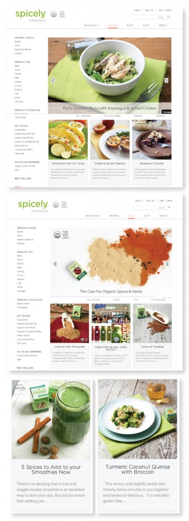 Blog Content Development for Spicely Organics