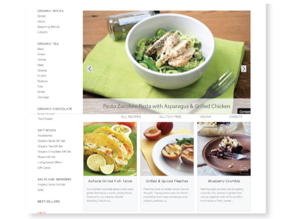recipe development and content strategy by melissa lopez